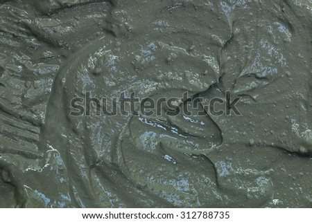 It is Pure mixed cement for construction. - stock photo
