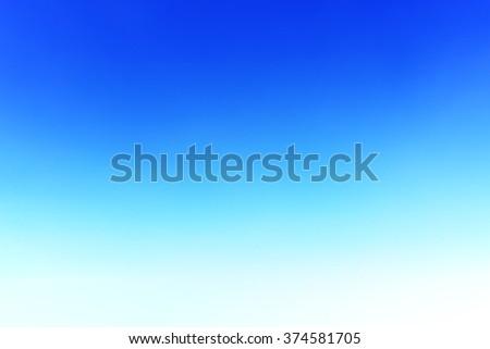 It is Spreadable cloud on blank blue sky. - stock photo