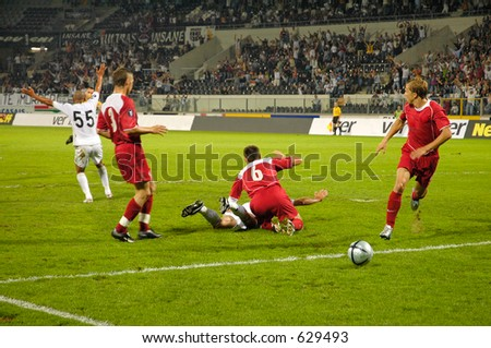 It's a Penalty. - stock photo