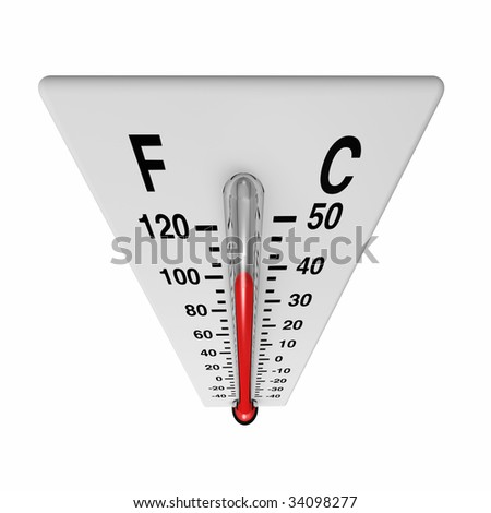 It's getting hot - stock photo