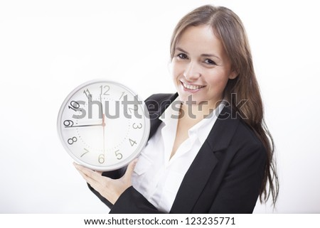 It's time for business - stock photo