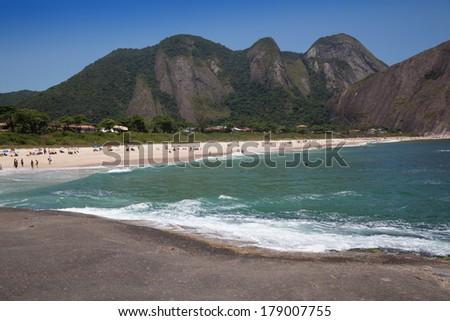 Itacoatiara beach,Niter�³i, Rio de Janeiro, Brazil  - stock photo