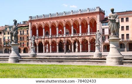 italian corner - stock photo
