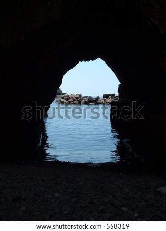 Italian Cove - stock photo