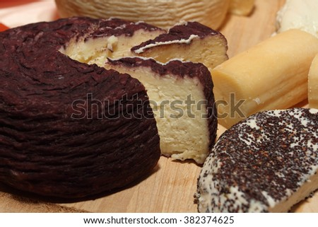 Italian flavored cheeses typical product dop
