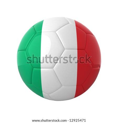 Italian football for europe's championship. - stock photo