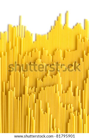 Italian Pasta with  row background