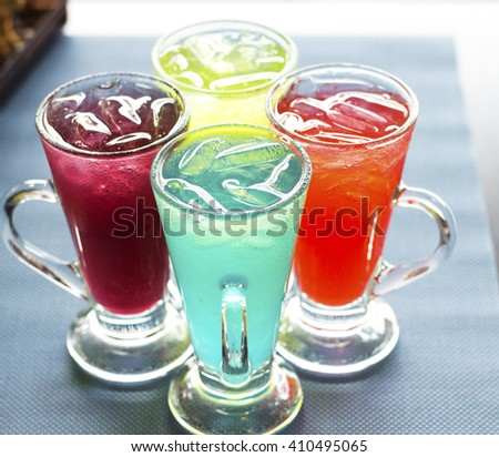 Italian Sodas - stock photo