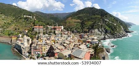 Italie, Cinq Terres - stock photo