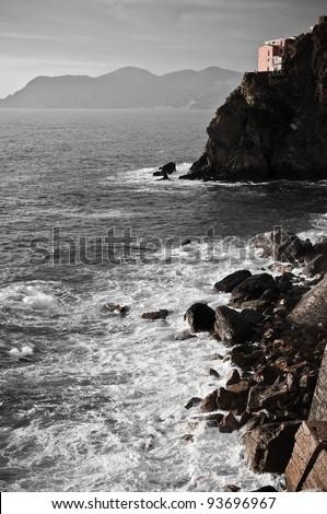 Italy. Cinque Terre - stock photo