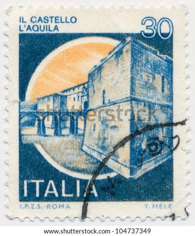 ITALY - CIRCA 1981: A stamp printed in Italy, shows, circa 1981 - stock photo