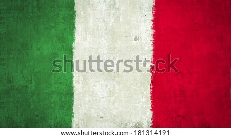 Italy Flag close up texture