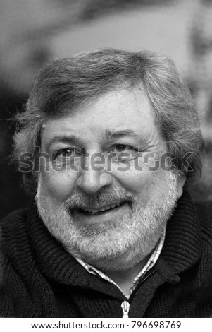 Italy - Milan january 18,2018 - Francesco Guccini italian singer posed