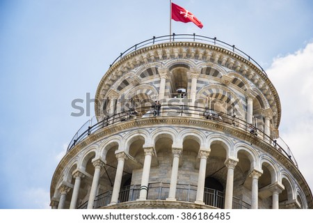 Italy,Pisa, Square of Miracles - stock photo