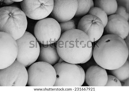 Italy, sicily, sicilian oranges - stock photo