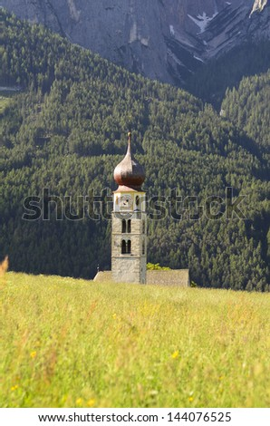 Italy, South Tirol, church St. Valentin