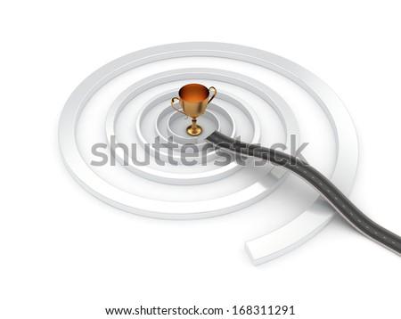 Its a shortcut - stock photo