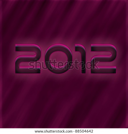 Its new year - stock photo