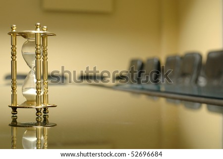 its time for business - stock photo