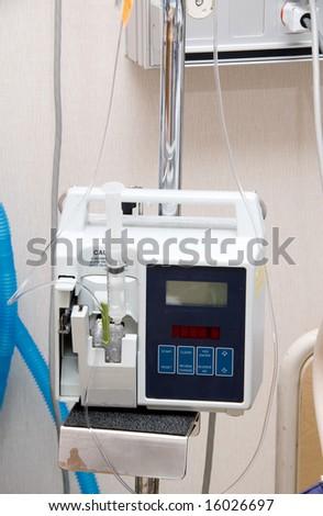 IV Machine - stock photo