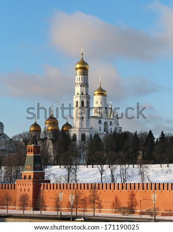 Ivan the Great Bell in the Moscow Kremlin - stock photo