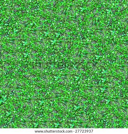 Ivy Seamless Pattern - this image can be composed like tiles endlessly without visible lines between parts - stock photo