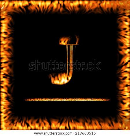 J Logo Fire Pics Photos - Fire Alp...