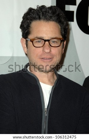 J.J. Abrams  at the FOX Winter All-Star Party. My House, Los Angeles, CA. 01-13-09