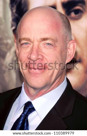 "J.K. Simmons at the Los Angeles premiere of ""Rendition"". Academy of Motion Picture Arts And Sciences, Beverly Hills, CA. 10-10-07"