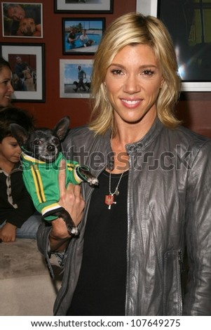 Jackie Warner  at the party to celebrate the 100th Episode of 'Dog Whisperer'. Boulevard 3, Hollywood, CA. 09-17-08 - stock photo