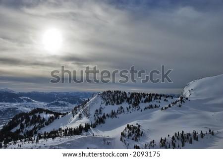 Jackson Hole Backcountry - stock photo