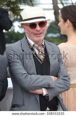 Jacques Audiard at the De Rouille Et D'os (Rust and Bone) photocall during the 65th annual Cannes Film Festival,  Cannes, France. 17/05/2012 Picture by: Henry Harris / Featureflash