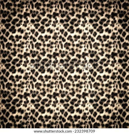 Jaguar pattern background - stock photo