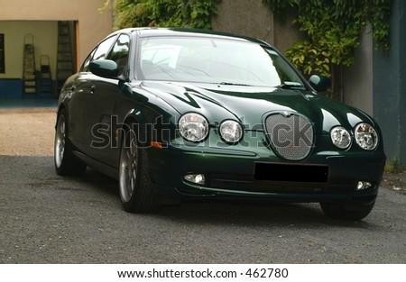 Jaguar S Type - stock photo