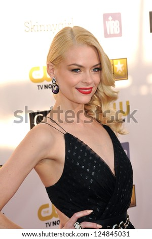 Jaime King at the 18th Annual Critics' Choice Movie Awards at Barker Hanger, Santa Monica Airport. January 10, 2013  Santa Monica, CA Picture: Paul Smith - stock photo