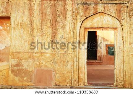 Jaipur door - stock photo