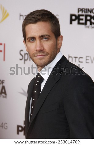 """Jake Gyllenhaal at the Los Angeles Premiere of """"Prince Of Persia: The Sands Of Time"""" in Hollywood, California, United States on May 17, 2010.  - stock photo"""