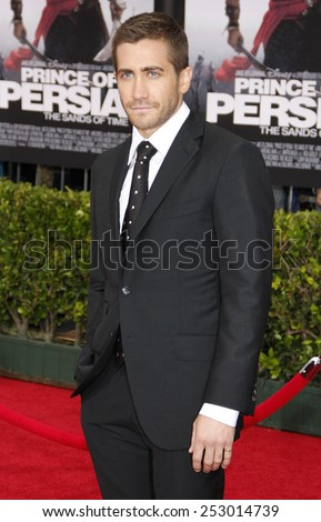 "Jake Gyllenhaal at the Los Angeles Premiere of ""Prince Of Persia: The Sands Of Time"" in Hollywood, California, United States on May 17, 2010.  - stock photo"