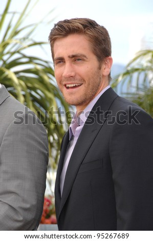 "Jake Gyllenhaal at the photocall for ""Zodiac"" at the 60th Annual International Film Festival de Cannes.  May 17, 2007  Cannes, France.  2007 Paul Smith / Featureflash - stock photo"