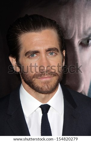 "Jake Gyllenhaal at the ""Prisoners"" World Premiere, Academy of Motion Picture Arts and Sciences, Beverly Hills, CA 09-12-13"