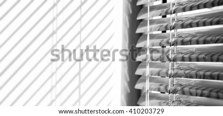 jalousie - stock photo