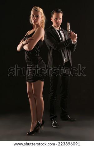 James Bond - stock photo