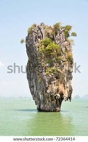 James Bond Island, Phang Nga, Thailand