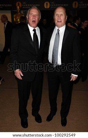 James Caan and Robert Duvall at the  2nd Annual Academy Governors Awards, Kodak Theater, Hollywood, CA.  11-14-10