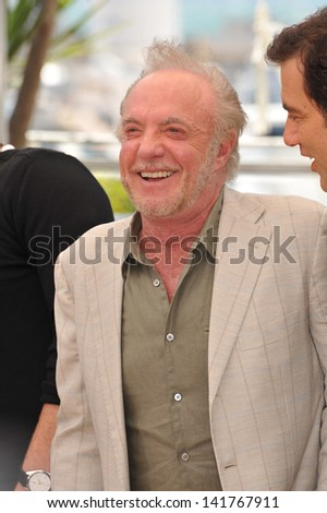 "James Caan at the photocall for his movie ""Blood Ties"" at the 66th Festival de Cannes. May 20, 2013  Cannes, France"