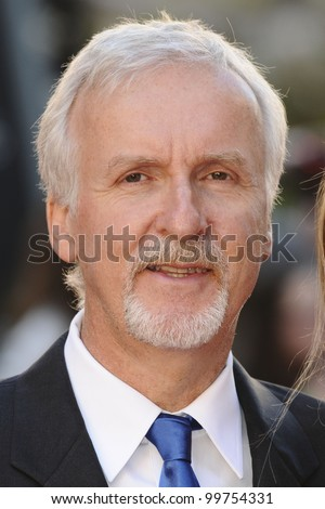 "James Cameron arriving for the ""Titanic 3D"" premiere at the Royal Albert Hall, Kensington, London. 27/03/2012 Picture by: Steve Vas / Featureflash - stock photo"