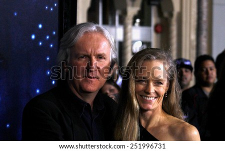 """James Cameron at the Los Angeles Premiere of """"Avatar"""" held at the Grauman's Chinese Theater in Hollywood, California, United States on December 16, 2009.  - stock photo"""