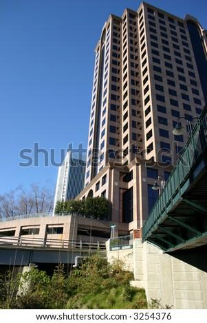 James Center - Richmond Virginia - stock photo