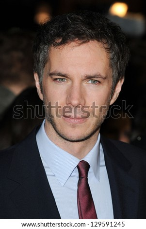 "James D'Arcy arrives for the ""Cloud Atlas"" premiere at the Curzon Mayfair, London.18/02/2013 Picture by: Steve Vas"