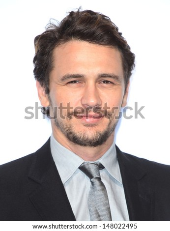James Franco arriving for the BMW i3 Launch Party, at Old Billingsgate, London. 29/07/2013 - stock photo